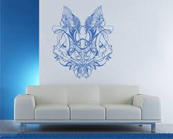 wall decals stickers home decor home furniture diy ik1407 wall decal sticker gemini zodiac sign bedroom living room