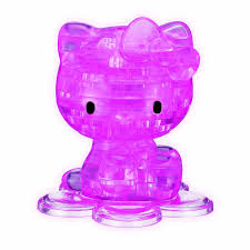 amazon 3d crystal puzzle kitty game toys u0026 games
