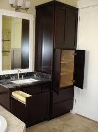 bath linen vanity contemporary bathroom houston by lifestyle
