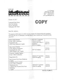 Oklahoma travel documents images City officials 39 travel expenses nominal at 2k news jpg