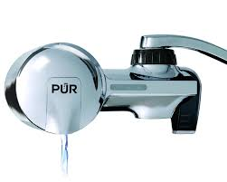 Kitchen Faucet Filter by Pur Pfm400h Chrome Horizontal Water Filtration Faucet Mount With 1
