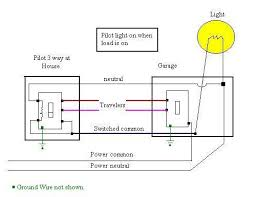pleasant wiring diagram for three way switches with pilot light