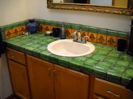 Bathroom Countertop Ideas Bathroom Tile Bathroom Countertop Tile Ideas Home Design Great