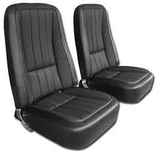 1968 corvette madrid grain vinyl seat cover set with basketweave