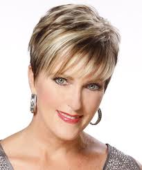 short hair with wispy front and sides the back and sides of this short hairstyle is tapered into the