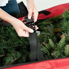 9ft 2 74m rolling christmas tree storage bag on wheels costco uk