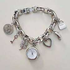 anne klein charm bracelet watches images Women 39 s anne klein watch charm bracelet on poshmark jpg
