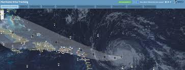 Hurricane Map Tracking Hurricane Irma U2013 Interactive Informational Map