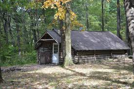 Rustic Cabin Chestnut Ridge Park Lodging Rustic Cabins
