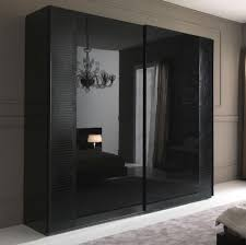 Wardrobe Doors Sliding Lavish Dark Wardrobe Design Inspiration With Frameless Sliding