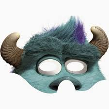 monsters free printable masks parties