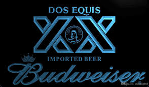 cheap light up beer signs ls1979 b dos equis imported bandbudweisers bar neon led light sign