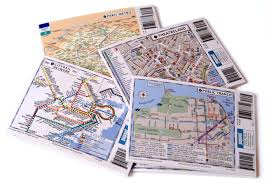 Boston City Map Tourist by Popout City Maps Popout Products