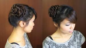 ballerina braid hair bun updo hairstyle for long hair