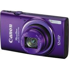 canon powershot elph 340 hs digital camera purple 9350b001 b u0026h
