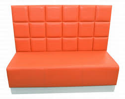 ultra modern two sided double seater banquette seating booth ready