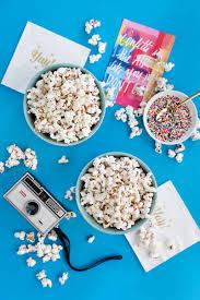 white chocolate confetti popcorn recipe a side of sweet