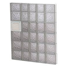 clearly secure 32 75 in x 44 5 in x 3 125 in ice pattern glass