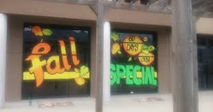south valley floors draper utah fall 2016 whimsical window painting