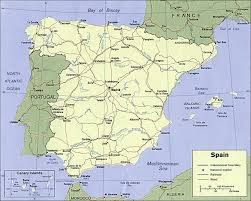spain on a map madrid maps tourist map metro map trains and more
