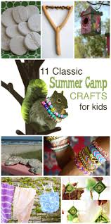 11 classic summer camp crafts for kids tinkerlab