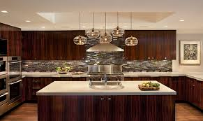Glass Kitchen Pendant Lights Blown Glass Pendant Lights Kitchen Contemporary With Appliance