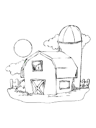 impressive barn coloring pages 50 2750