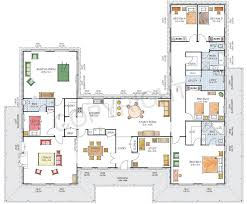 Single Story Log Home Floor Plans Modern Ranch House Plans Images About Bedroom On Pinterest In With