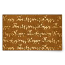 happy thanksgiving text stickers zazzle
