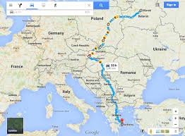 Ana Route Map The Route U2013 A W E S O M E