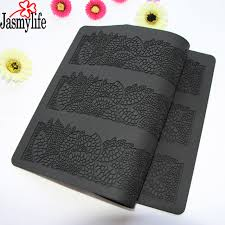 aliexpress buy leaf silicone baking mat cake lace mold