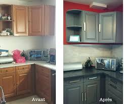cuisine avant apr鑚 renovation cuisine bois avant apres cuisine en en meringue