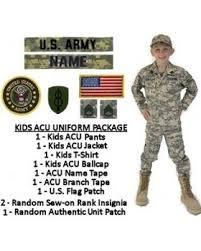 authentic kids u0027 army halloween costumes army surplus world