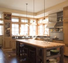 butcher block island kitchen rustic with oven hood kitchen island