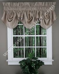 Chocolate Brown Valances For Windows 22 Best Ascot Valance Images On Pinterest Tassels Curtains And