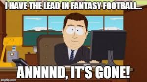 Fantasy Football Meme - 25 fantasy football memes
