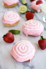 strawberry margarita strawberry margarita cream filled donuts half baked harvest