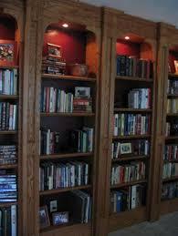 Oak Bookshelves by Custom Built In Oak Bookshelves By Lone Star Artisans Custommade Com