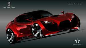 dodge supercar concept ford cobra red devil concept maher thebian drive away happy