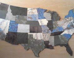 wooden united states wall usa map metal wall 48 wide 3 separate by functionalsculpture