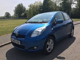 toyota yaris 2010 1 0l tr vvt i 5 door hatchback low miles 12