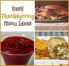 easy thanksgiving menu ideas through imperfection