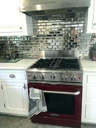 mirror kitchen backsplash mirrored kitchen backsplash wanderfit co