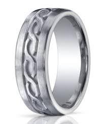 celtic knot wedding bands argentium silver mens rings brushed satin celtic knot deign