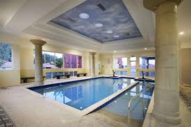 interior perfect modern indoor swimming pool decor with tiles