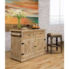 hillsdale furniture carter weathered sandy beige kitchen island