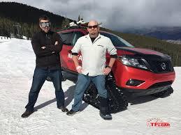 nissan rogue hatch tent nissan rogue vs pathfinder winter warrior concept snowy drag race