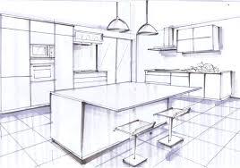 cuisine facile avec dessin 3d chambre avec best chambre en perspective facile images