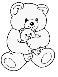 25 bear coloring pages ideas valentine