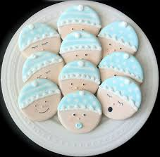 baby shower cookies decorated baby shower cookies baby faces in by peapodscookies
